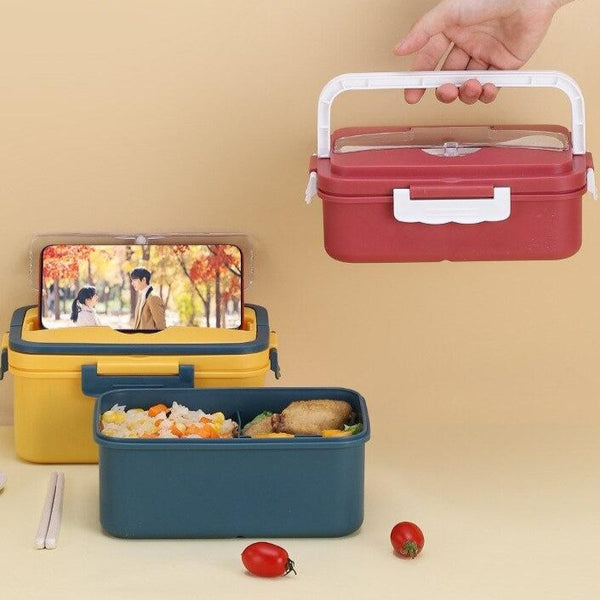 Handle Plastic Bento Box