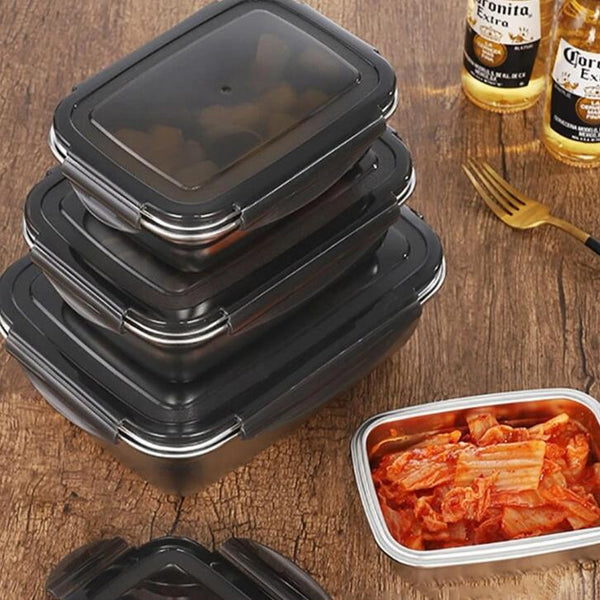 Stainless Steel Basic Lunch Box