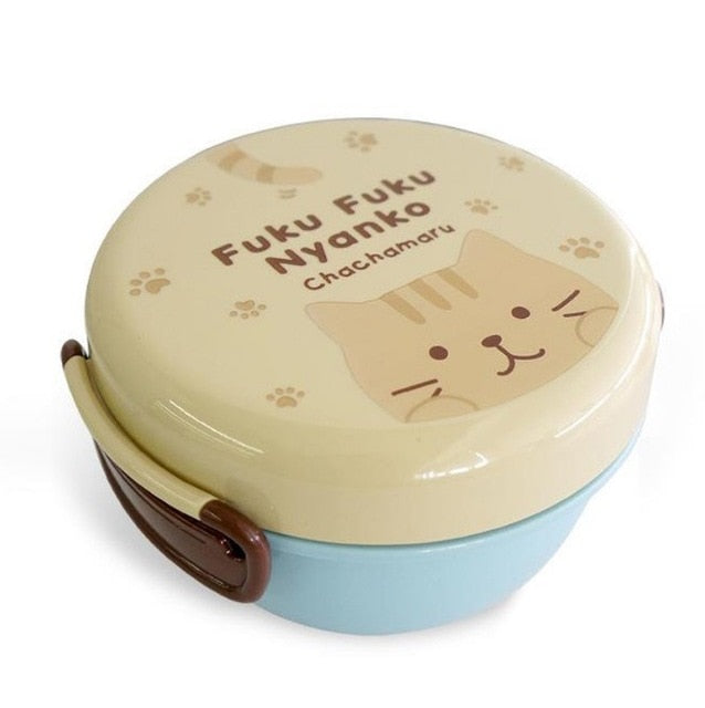 Japanese Cat Bento Box for Kids