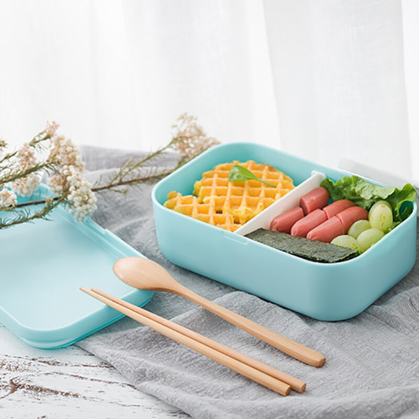 Bento Blue and Pink Minimalist | Bento-cook.com