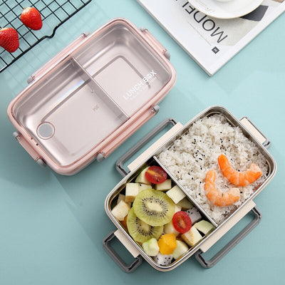 Bento Box Metal simple | Bento-cook.com