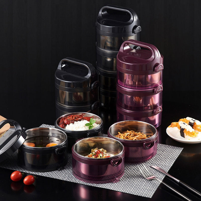 Three Layers Stainless Steel Lunch Box