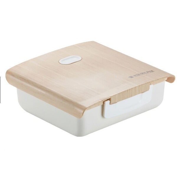 Bento Box with Wooden Cover