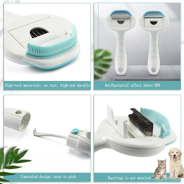 3 in 1  Pet  Grooming/Shedding Brush