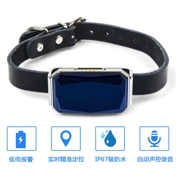 New Arrival IP67 Waterproof Pet Collar GSM AGPS Wifi LBS Mini Light GPS Tracker for Pets Dogs Cats Cattle Sheep Tracking Locator