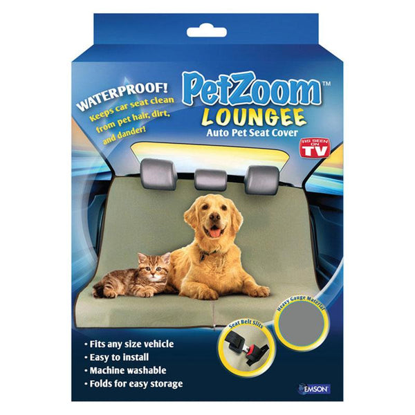 TV Product Petzoom Loungee Large Size Pet Crate Safe Seat Bag Carrier Travel Bed Resistance to Pets Bite and Dirt Large Space