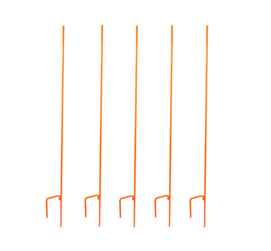 "5 orange Ez Step-In Posts 60"" x 1/2"" diameter"