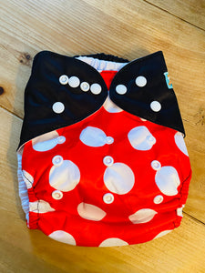Alvababy Onesize Pocket Nappy - Minnie Mouse