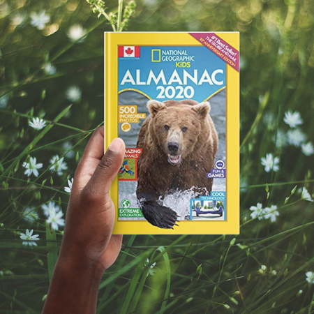 2020 National Geographic Kids Almanac