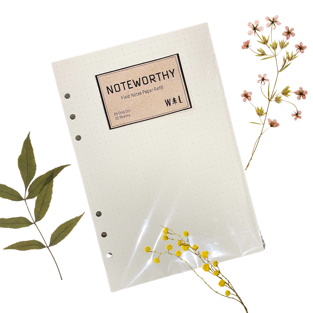 """Noteworthy"" Field Notes Refill Binder Paper"