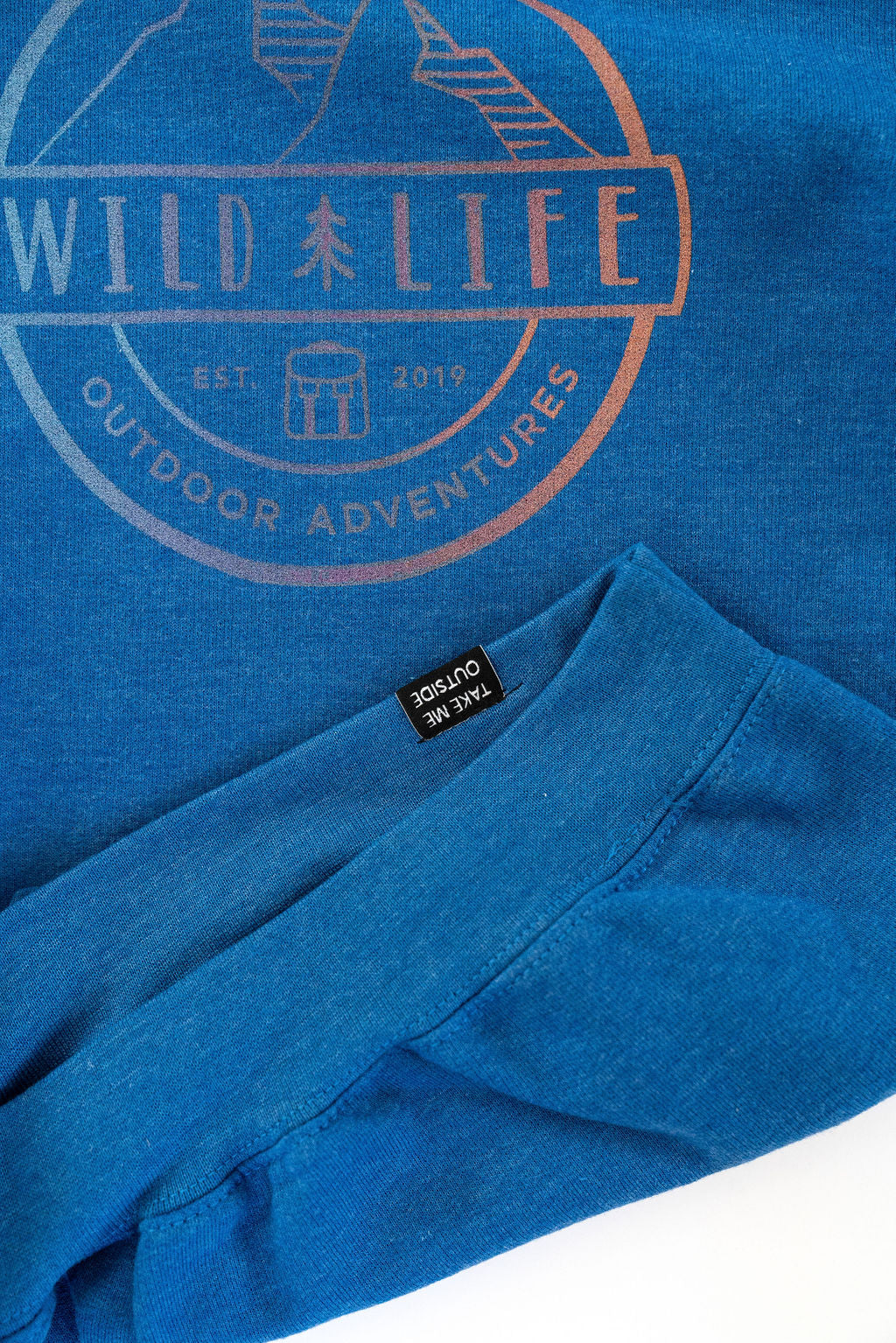 "Adult Wild | Life ""All Season"" Tri-Colour Crest Logo Hoodie"