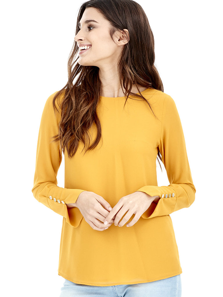 Blusa LAGUNA - Amarillo Curry