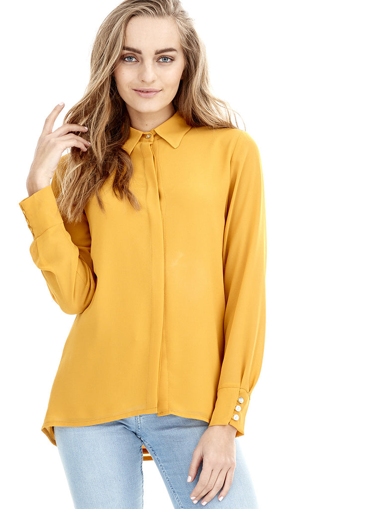 Blusa ESENCIA - Amarillo Curry