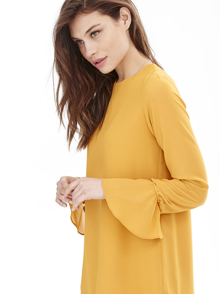 Blusa MARINA - Amarillo Curry