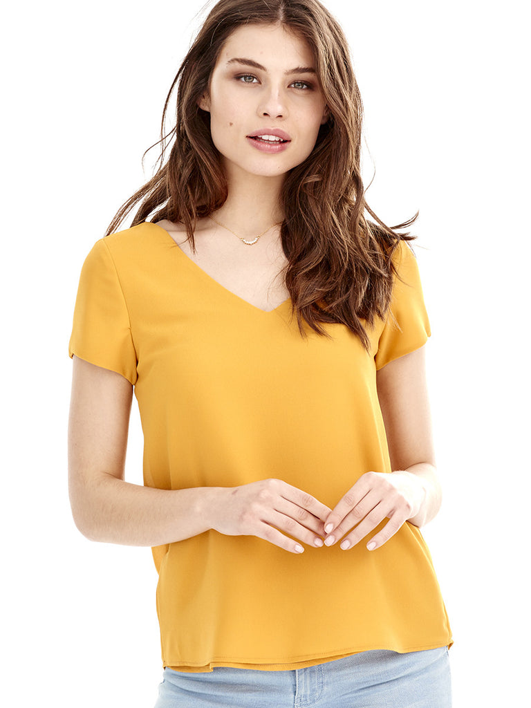 Blusa CALA - Amarillo Curry