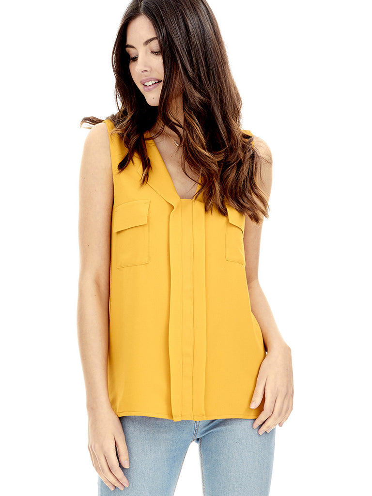 Blusa COSTA - Amarillo Curry