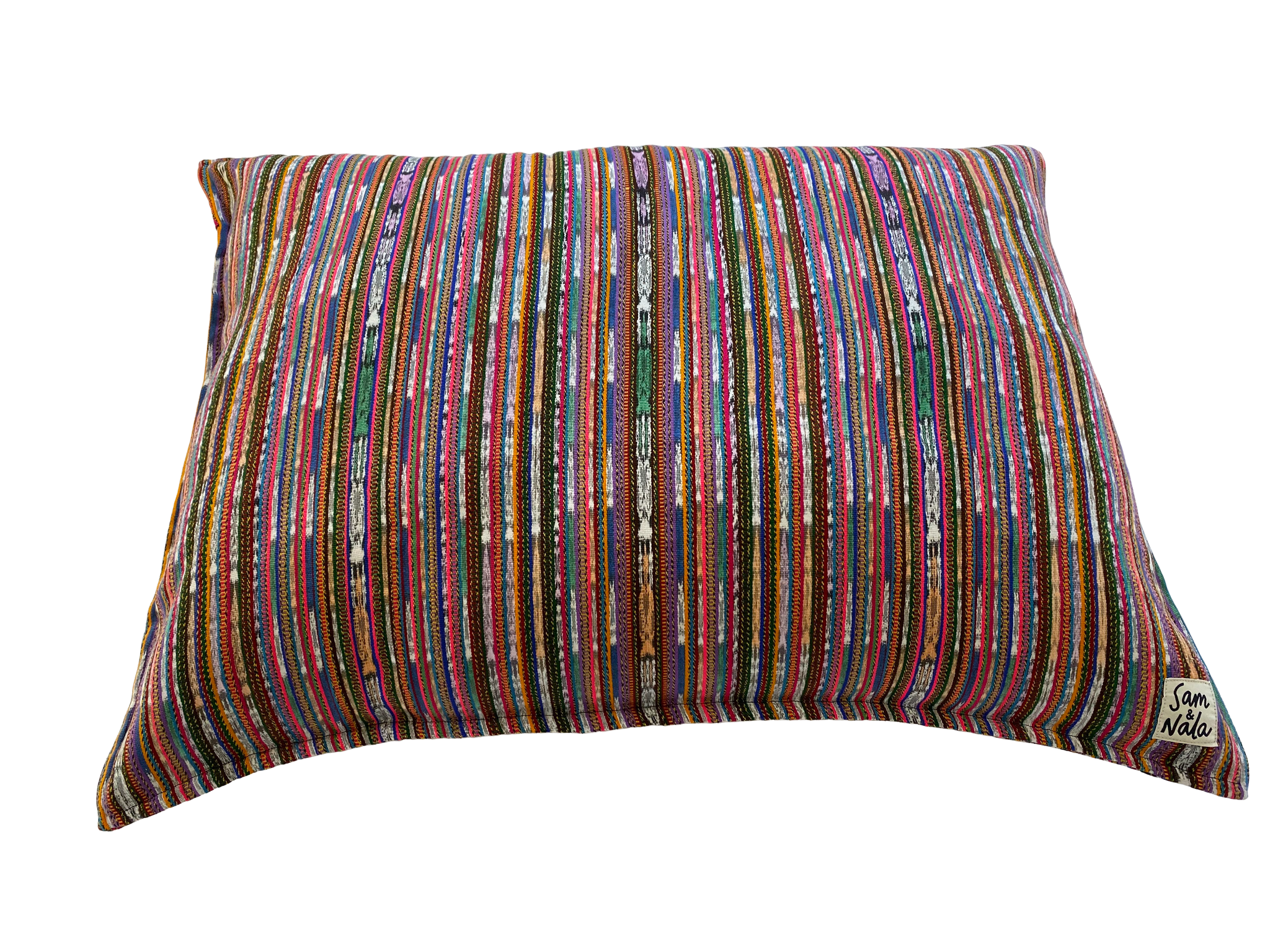 Rainbow Medium Dog Bed-One of a Kind (#211)