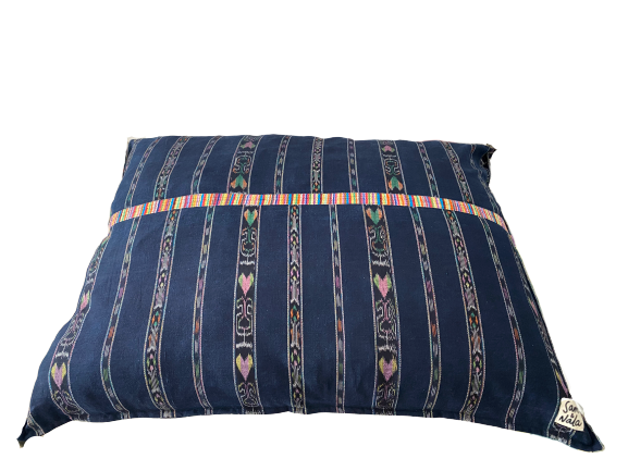 Large Dog Beds - Multi-colored Patterned, One of a Kind (#308)