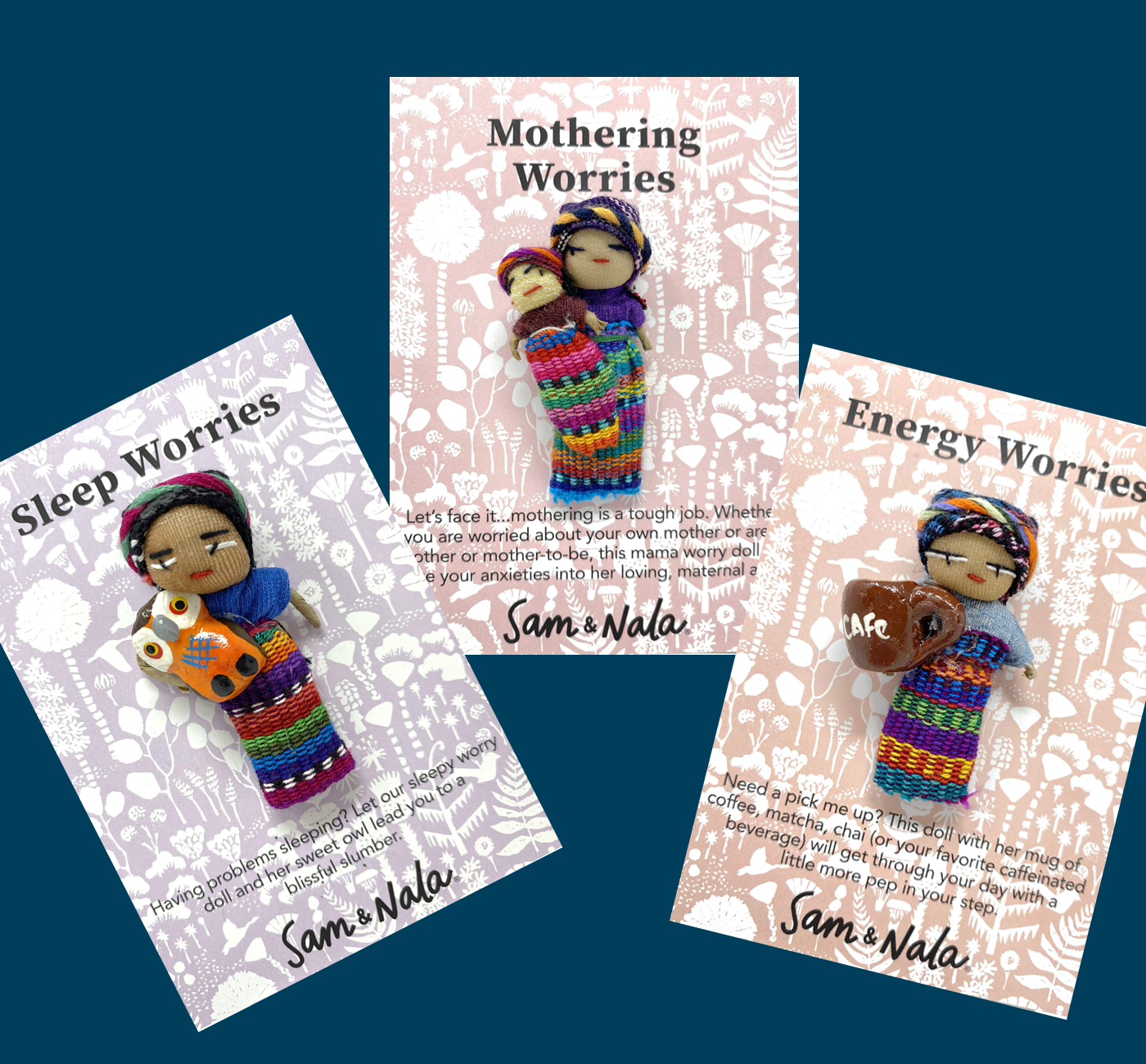 3 Mom Pack- includes 1 each of