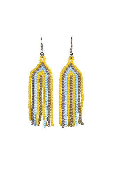 Beaded Earrings - Aloha