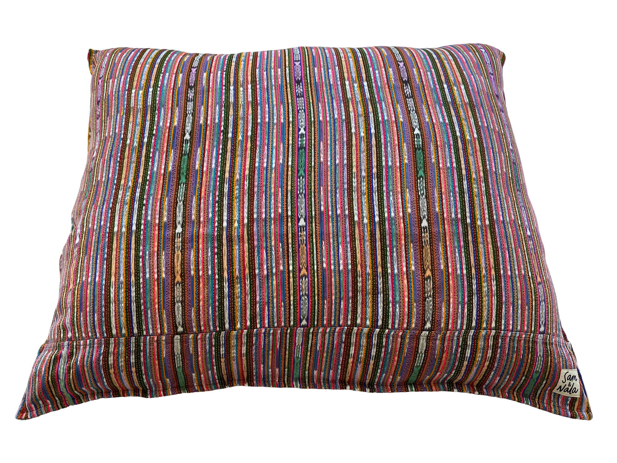 Rainbow Large Dog Bed-One of a Kind (#305)