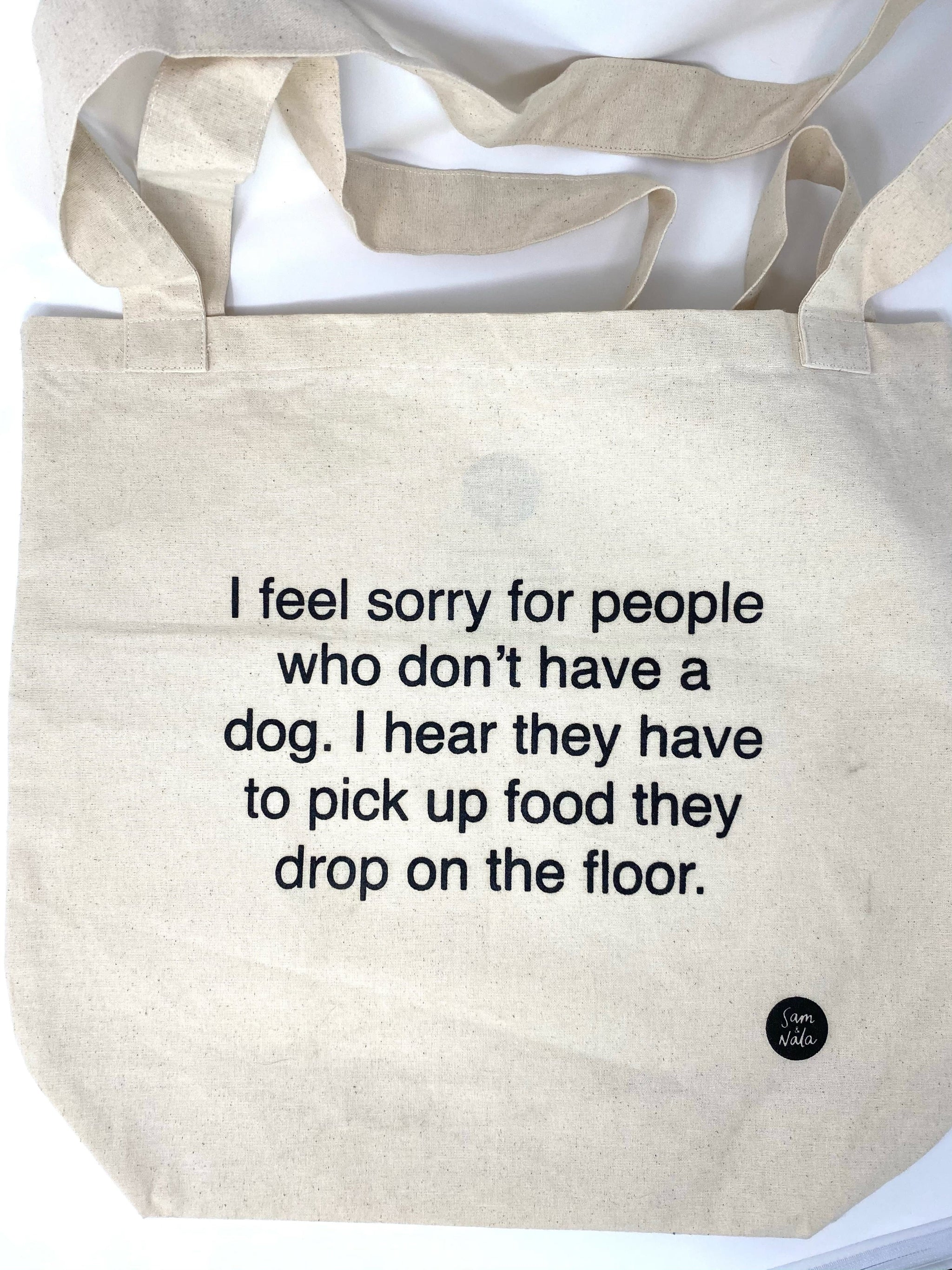 Recycled Canvas Bags - I Feel Sorry