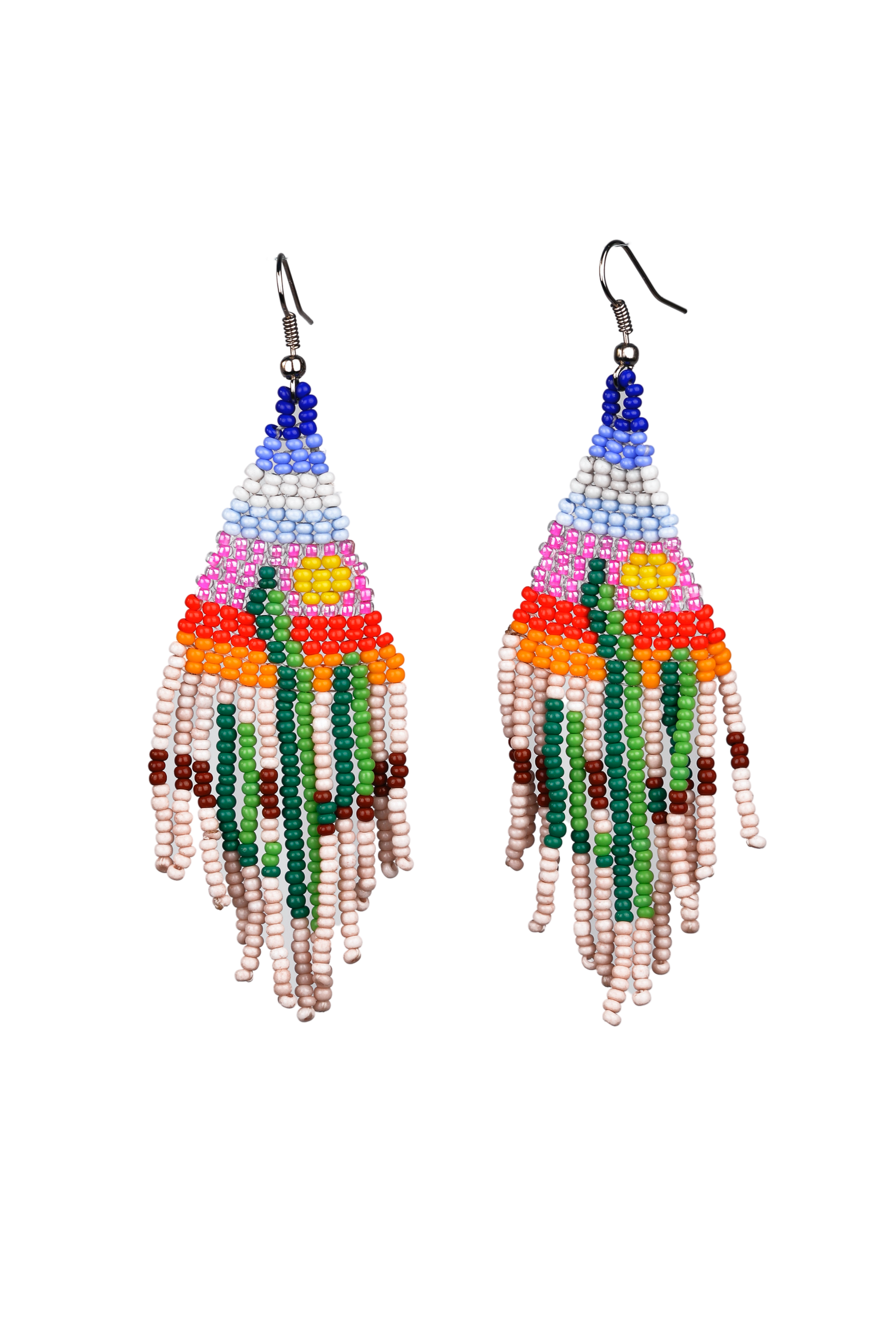 Beaded Earrings - Sahara