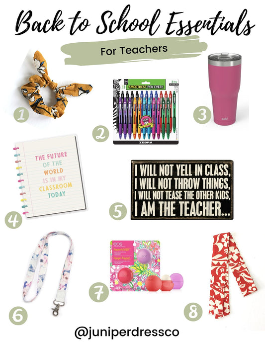 Back to School Essentials for Teachers