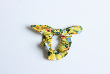 Load image into Gallery viewer, Yellow Rifle Paper Co. Scrunchie