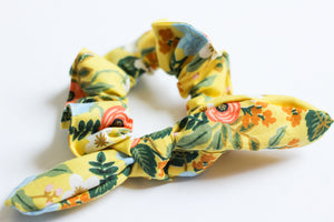 Yellow Rifle Paper Co. Scrunchie