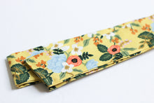 Load image into Gallery viewer, Yellow Rifle Paper Co. Hair Scarf