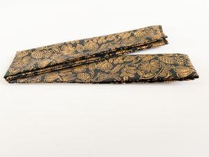 Black and Gold Rifle Paper Co. Hair Scarf