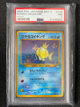 Load image into Gallery viewer, PSA 7 NM - Japanese Shining Magikarp (Secret Rare) Holo Triple Star - 2000 WOTC Neo 3 Revelation