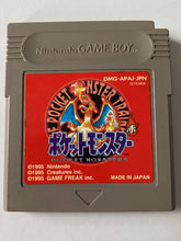 Carica l'immagine nel visualizzatore di Gallery, Japanese Pokemon Red Version for Gameboy Color