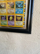 Carica l'immagine nel visualizzatore di Gallery, Pokemon Fossil Holo Rare Uncut Sheet 1 of 99 (110 Cards) Wizards of the Coast Kay Bee Toys FRAMED