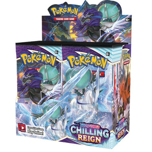 Chilling Reign Booster Boxes & Cases - PREORDER - Releases 6/18