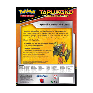 Pokémon TCG: Tapu Koko Pin Box