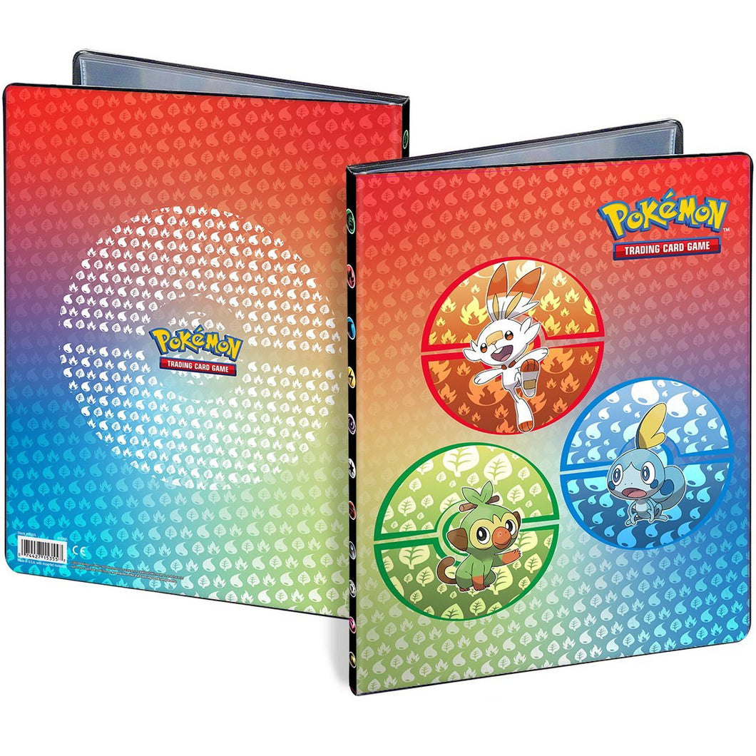 Ultra Pro 9 Pocket Portfolio: Pokémon - Sword & Shield Galar Starters