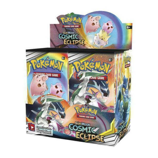 Cosmic Eclipse Booster Boxes & Cases