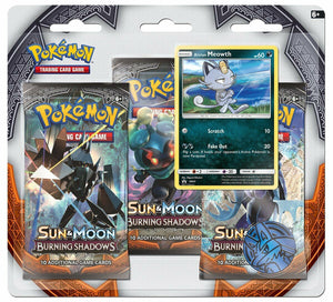 Burning Shadows 3 Pack Blisters & Cases