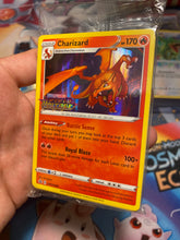 Load image into Gallery viewer, Vivid Voltage Stamped Holo Charizard Promo SWSH066
