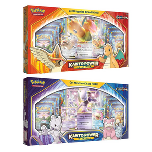 Kanto Power Collection - Mewtwo & Dragonite Box Sets