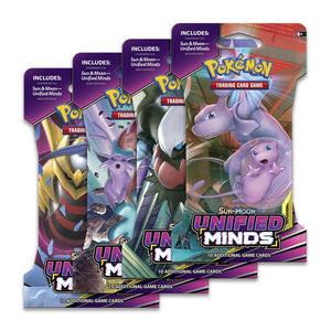 Unified Minds Sleeved Booster Packs & Cases