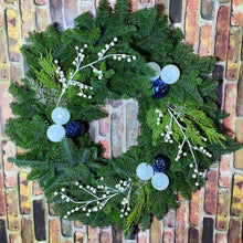 "Load image into Gallery viewer, 28"" Winter Wreath"