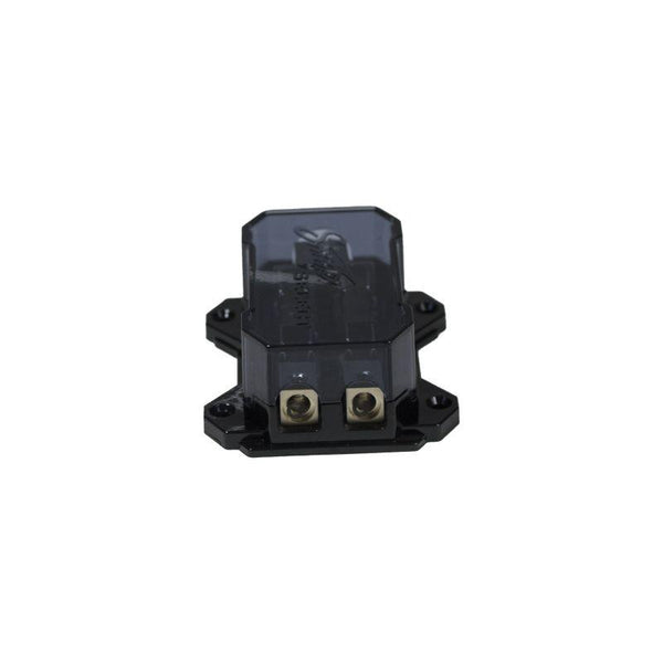 (1) 4GA INPUT TO (2) 8GA OUTPUT AGU DISTRIBUTION BLOCK