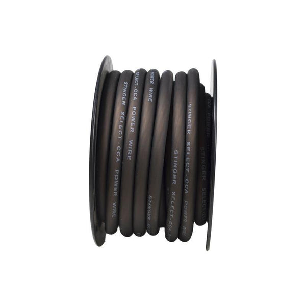1/0GA MATTE BLACK POWER WIRE