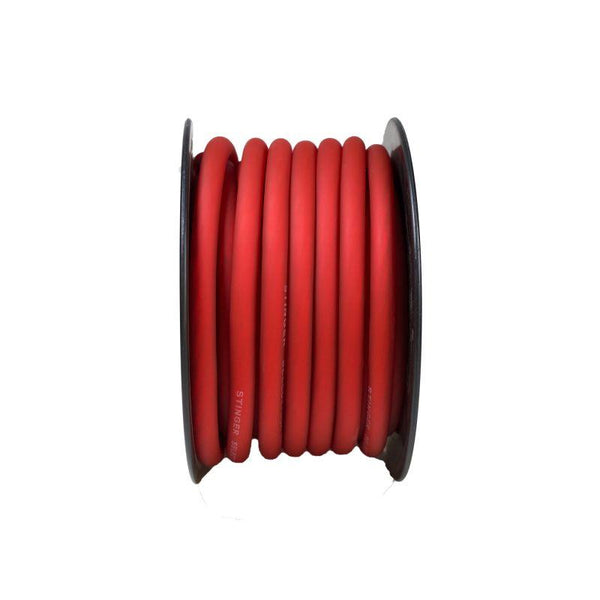1/0GA MATTE RED POWER WIRE