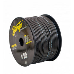 10GA PRO POWER WIRE: BLACK 250' Roll