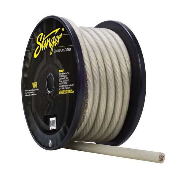 1/0GA PRO POWER WIRE CLEAR 50' Roll