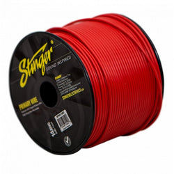 14GA PRO PRIMARY WIRE: RED 500' ROLL